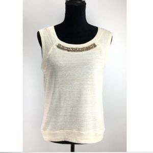 NWT Socialite Knit Top Size S Small Embellished